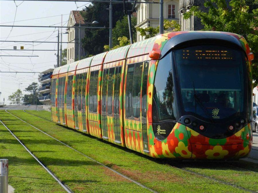 Rame 2094 Citadis 402 Alstom le 8 septembre 2012