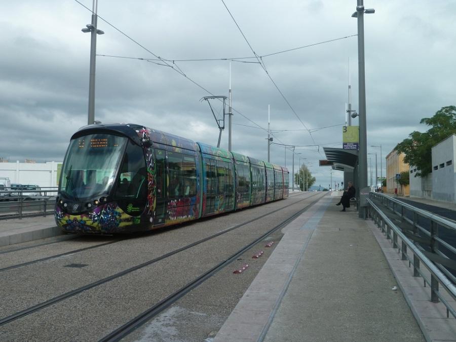 Rame 2085 Citadis 402 Alstom le 30 septembre 2012