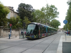Cours Gambetta à Montpellier, le 22 avril 2012
