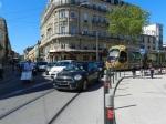 Place Saint-Denis à Montpellier, le 11 avril 2012