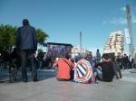 Place de la Comédie à Montpellier le 20 mai 2012