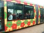 Rame 2095 Citadis 402 Alstom le 21 mai 2012