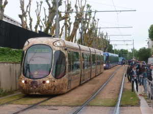 Rue d'Epidaure à Montpellier