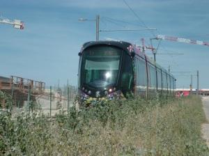 Rame 2083 Citadis 402 Alstom le 22 juillet 2012