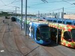 Les Hirondelles et rames 2092 Citadis 402 Alstom le 22 juillet 2012