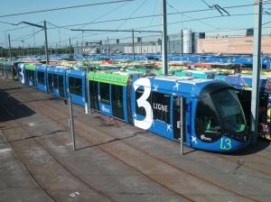 Rame 2091 Citadis 402 Alstom le 15 juillet 2012