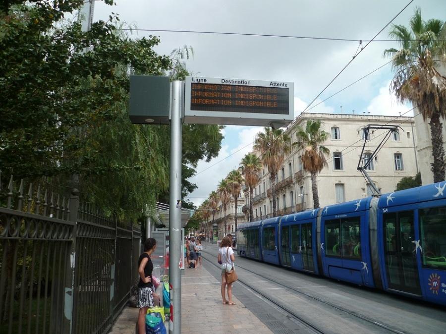 """""""Gare Saint-Roch"""" des lignes 1 et 2, le 15 août 2012"""