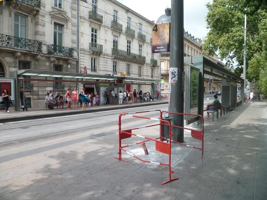 """Station """"Gare Saint-Roch"""" des lignes 3 et 4 le 15/08/2012"""