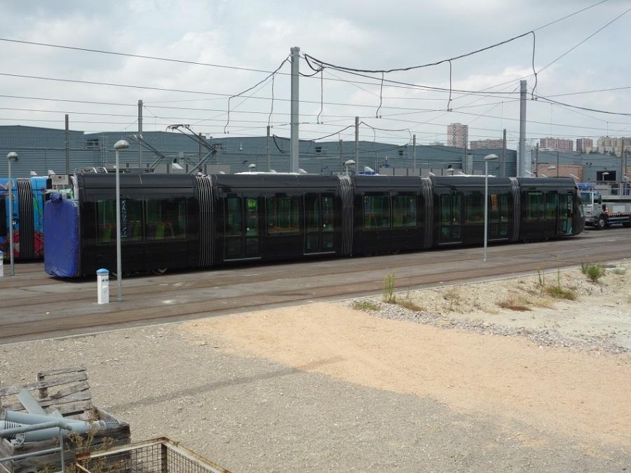 Rame 2089 Citadis 402 Alstom le 23 août 2012