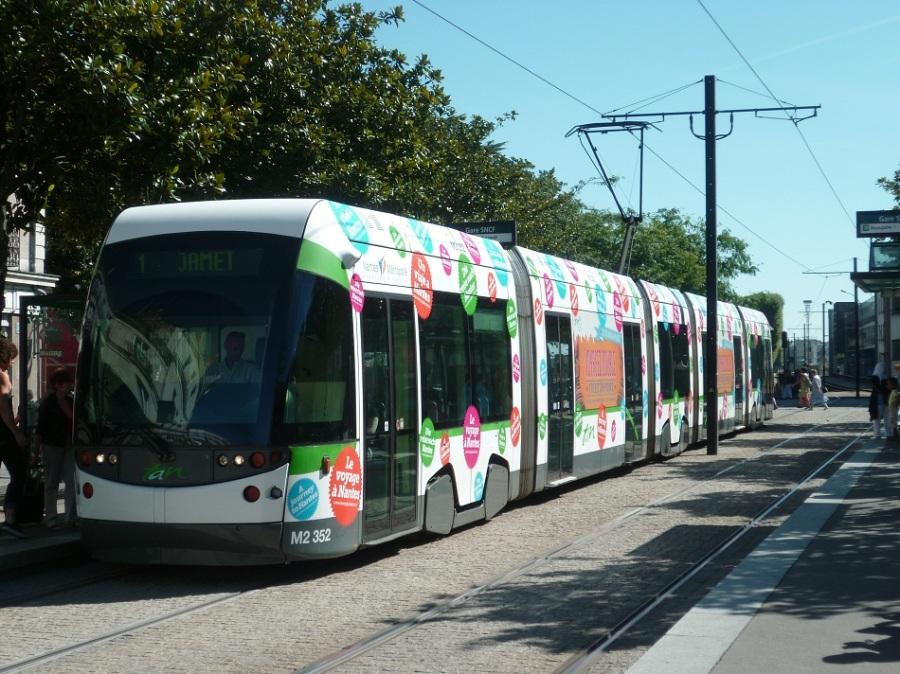"""Station """"Gare SNCF"""" à Nantes le 17 août 2012"""