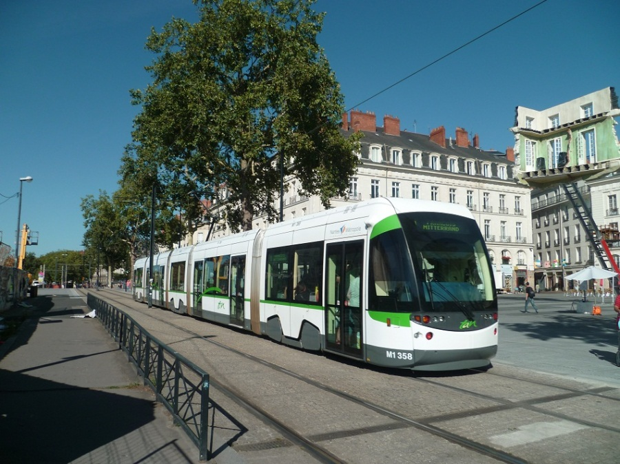 Place du Bouffay à Nantes le 17 août 2012