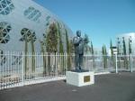 Statue de Georges Frêche le 16 septembre 2012