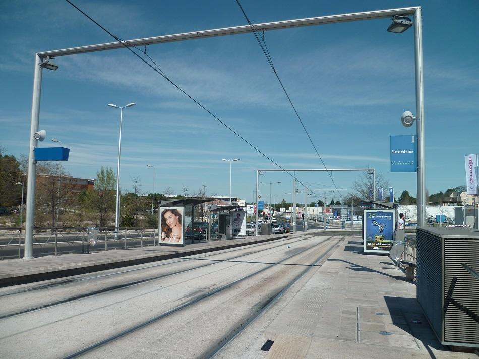 Ligne 1 tramway de montpellier - Horaire tram montpellier ...