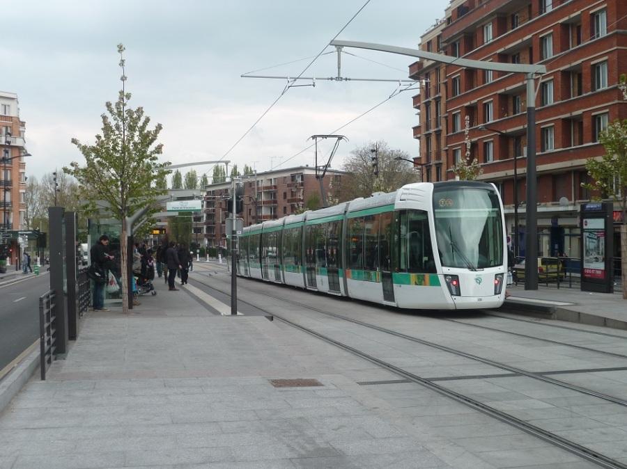 Station porte des lilas t3b 28 04 2013 tramway de montpellier - Tramway porte des lilas ...