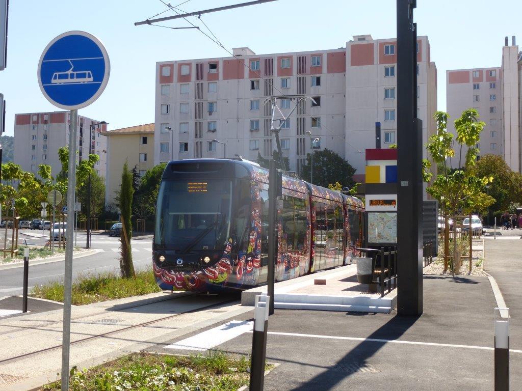 17 septembre 2014 tramway d aubagne d un terminus l for Piscine du charrel