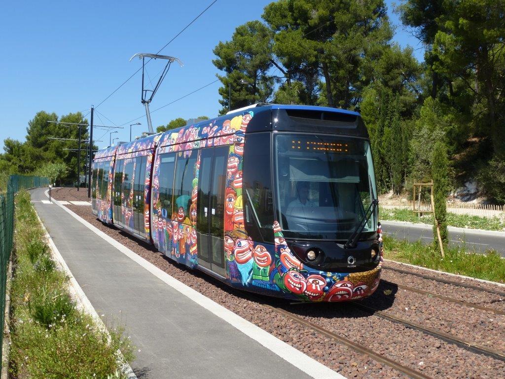 17 septembre 2014 tramway d aubagne d un terminus l for Piscine alain bernard aubagne