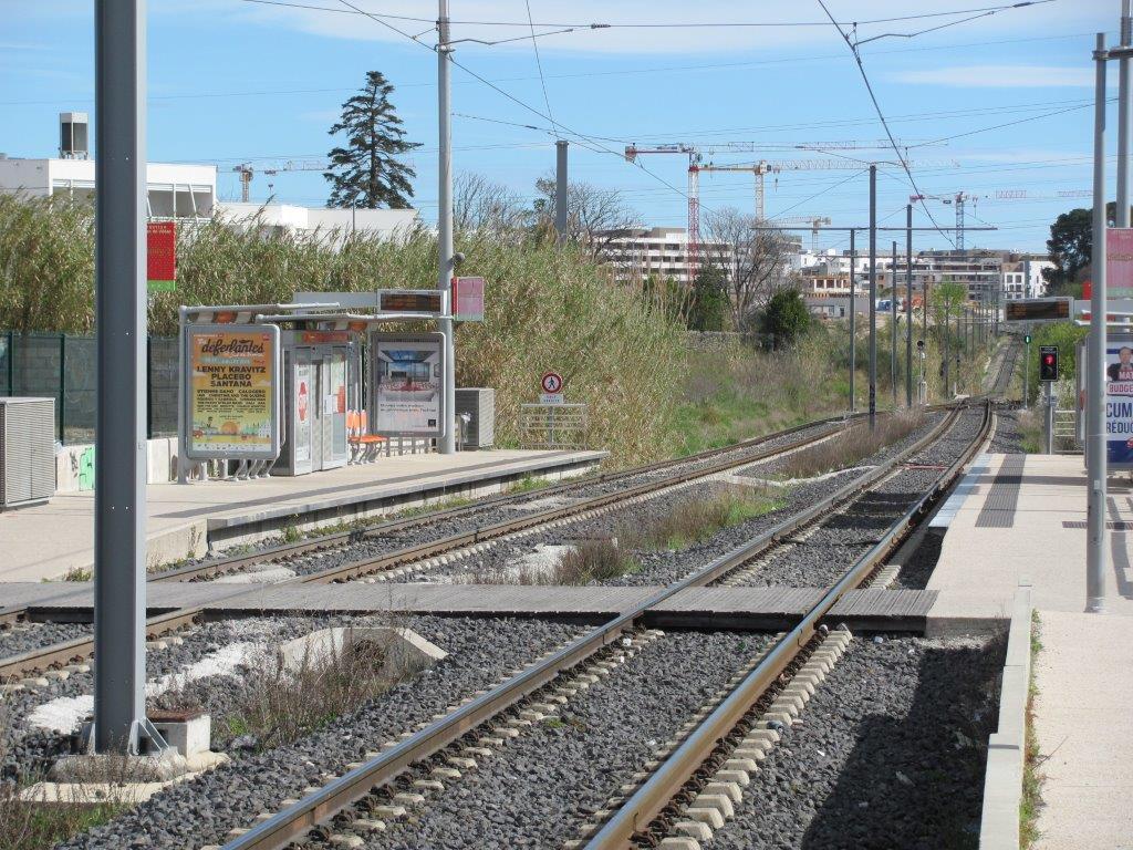 Ligne 2 tramway de montpellier - Horaire tram montpellier ...