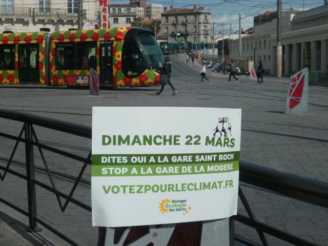 Y aurait-il un référendum d'initiative populaire organisé dans la métropole montpelliéraine, le dimanche 22 mars 2015 ? Photo prise le lundi 16 mars 2015. Copyright : Edouard Paris