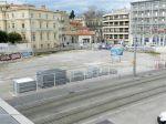 """Autre vue sur le site du futur programme immobilier """"Hôtel Saint Roch - Belaroia"""" à Montpellier, rue Alexandra David-Néel, le jeudi 9 février 2017. Copyright : Anje34"""