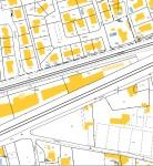 Les photos précédentes ont été prises, à la hauteur de la parcelle AR 145 en nature de voie routière. Document : cadastre.gouv.fr