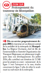 Info publiée par Le Journal de La Région Occitanie Pyrénées Méditerranée édition département de l'Hérault Janvier-Février 2017