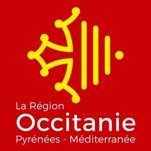 Le logo de La Région Occitanie Pyrénées - Méditerranée, conçu par la jeune graphiste Léa Filipowicz, a été dévoilé le vendredi 3 février 2017. Document : La Région Occitanie Pyrénées - Méditerranée