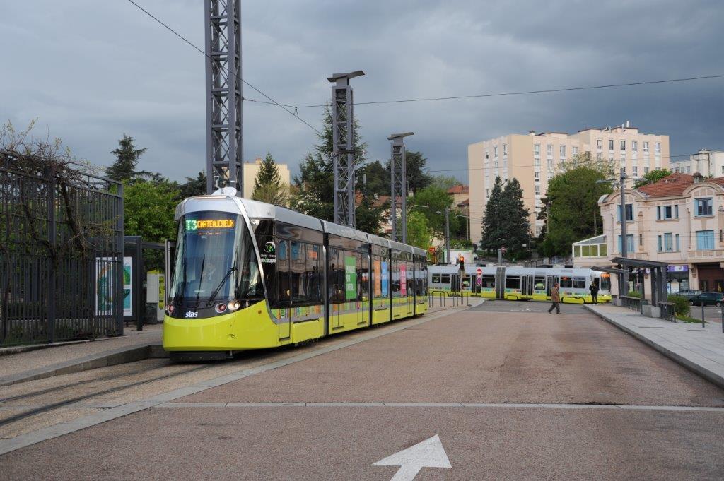 9 ao t 2017 rames urbos 3 caf de saint etienne tramway de montpellier - Garage mercedes saint etienne ...