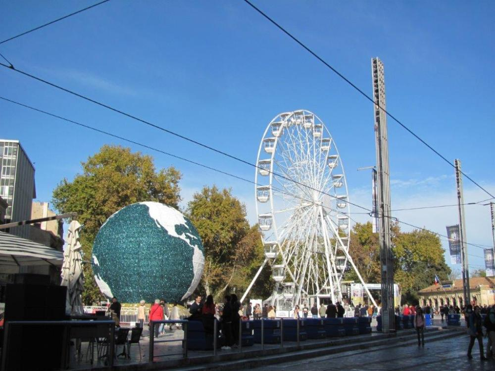 grande roue à Montpellier
