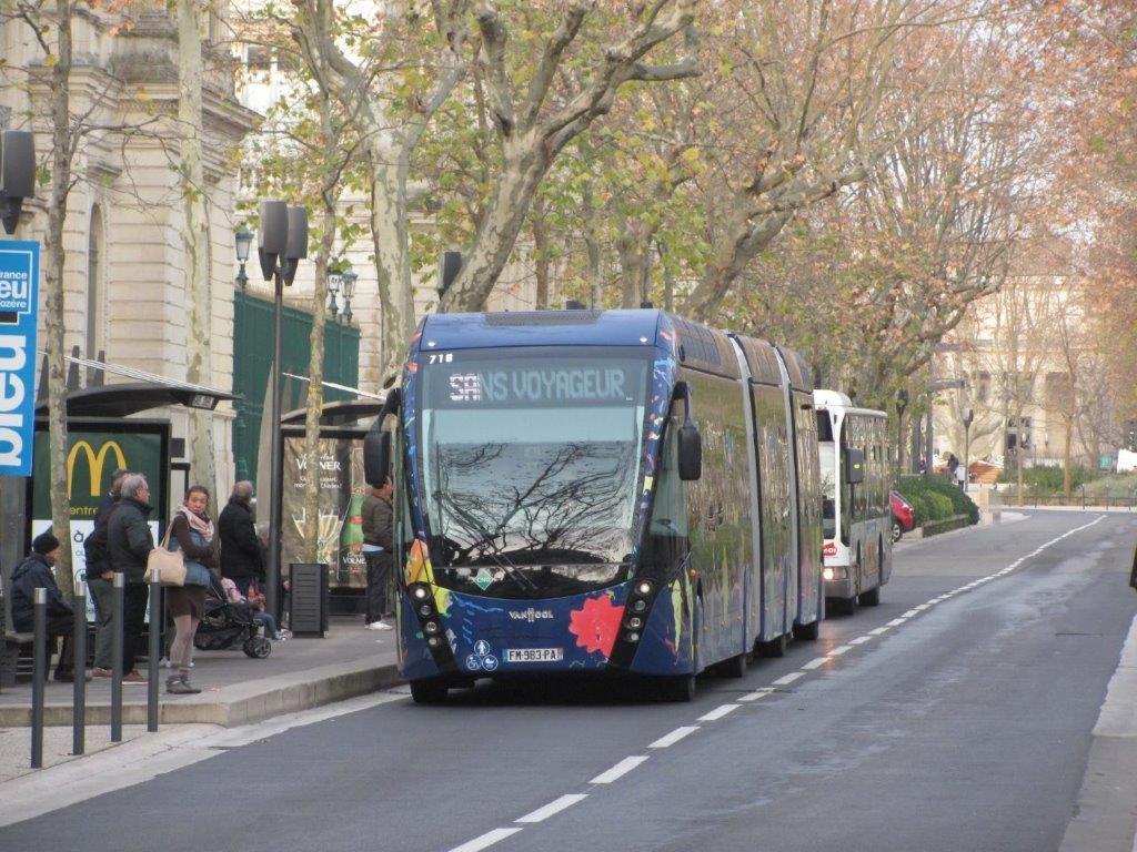 7 Janvier 2020 A Nîmes Mise En Service Commercial Suivie